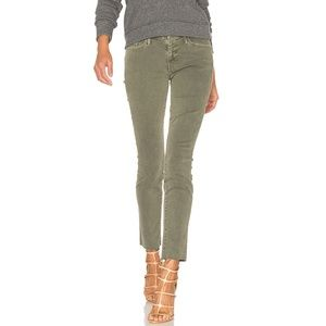 NWT MOTHER LOOKER ANKLE FRAY JEAN